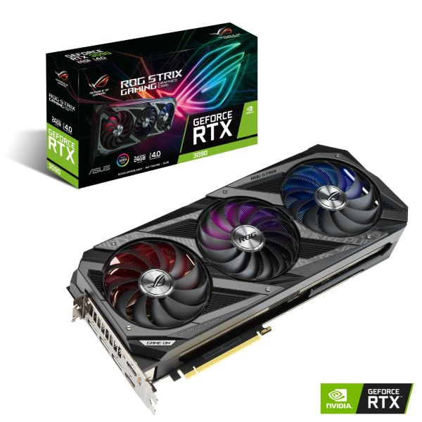ASUS ROG STRIX GeForce RTX 3090 24GB Gaming OC