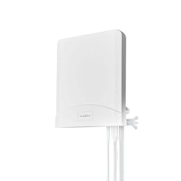 Nedis 3G-/4G/5G-antenn / Max 7 dB förstärkning / 698 – 960 MHz / 1710 – 2700 MHz / Vattentät