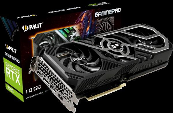 Palit GeForce RTX 3080 Gaming Pro 10GB