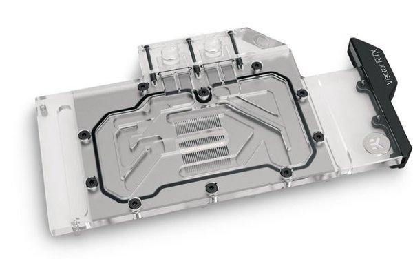 EK-Quantum Vector RTX 3080/3090 D-RGB GPU Vattenblock – Nickel + Plexi