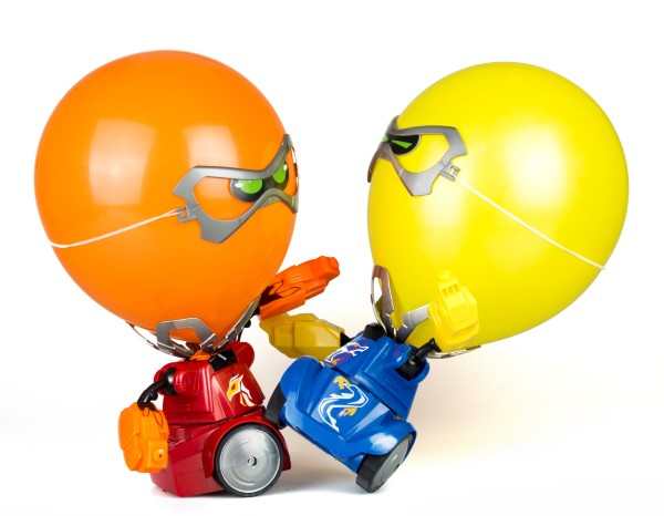 Silverlit Robo Kombat Balloon Puncher 2-pack (Röd/Blå)