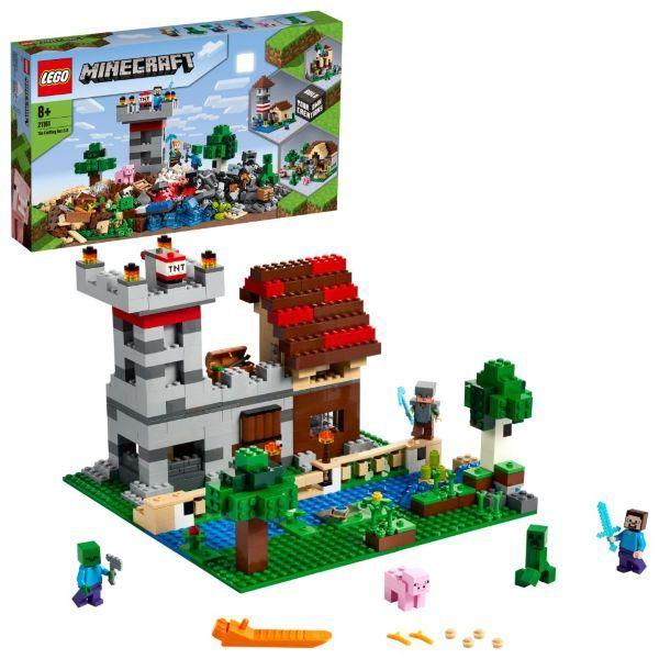 LEGO Minecraft Skaparlådan 3.0 21161 (Kartongskada)