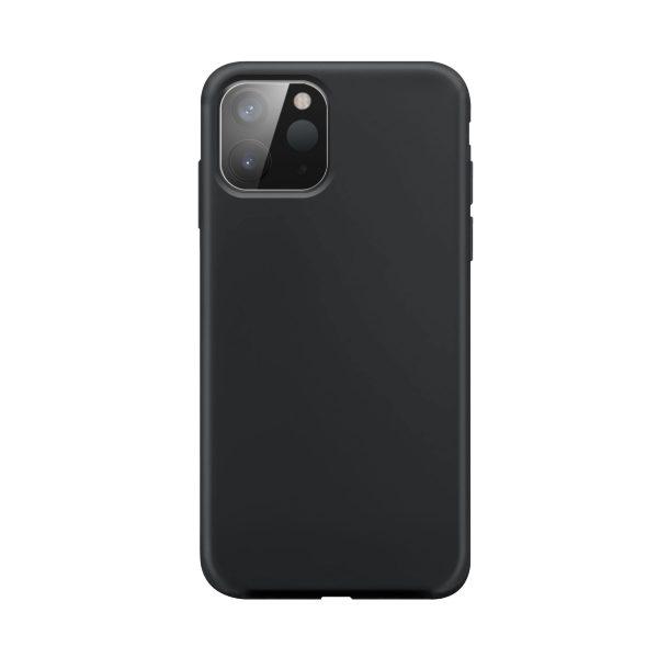 iPhone 12 mini / XQISIT / Silikon / Antibakteriell – Svart
