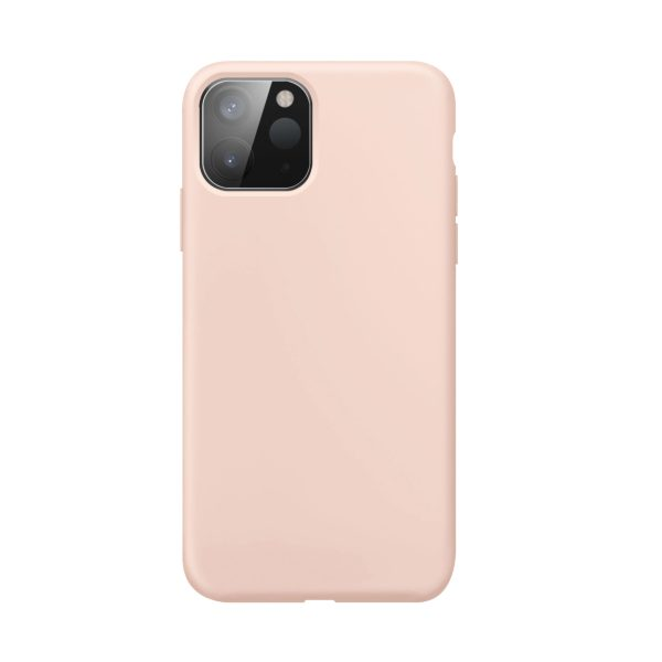 iPhone 12 mini / XQISIT / Silikon / Antibakteriell – Rosa