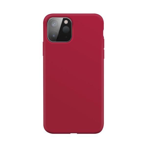 iPhone 12 mini / XQISIT / Silikon / Antibakteriell – Röd