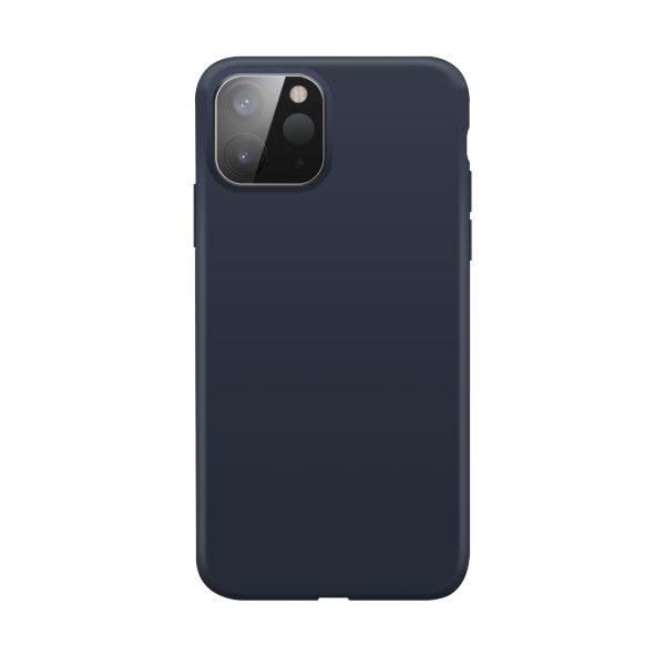 iPhone 12 mini / XQISIT / Silikon / Antibakteriell – Blå