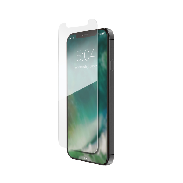 iPhone 12 Pro Max / XQISIT / Tough Glass CF flat – Clear