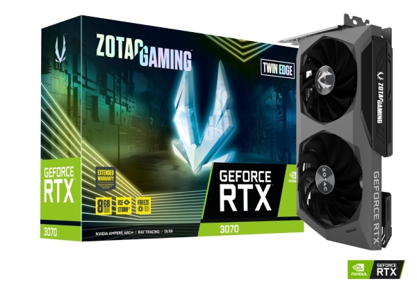 Zotac Gaming GeForce RTX 3070 Twin Edge 8GB