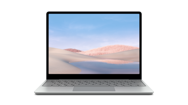 "Microsoft Surface Laptop Go / 12.5"" / i5-1035G1 / 4GB / 64GB / Intel Iris / Win 10 - Platinum"