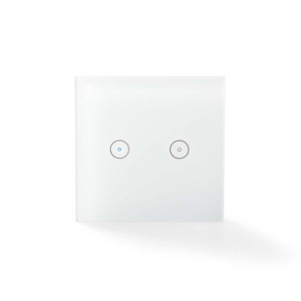 Nedis WiFi Smart Ljusomkopplare – Dubbel (Fyndvara – Klass 4)