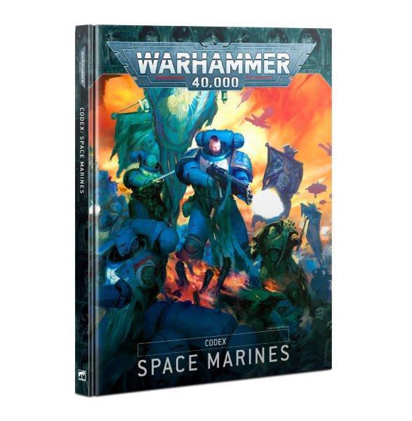 Codex: Space Marines (Hardback) (Eng)