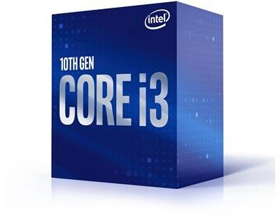 Intel Core i3-10100F - 4 kärnor / 8 trådar / 3.6 GHz / 6MB / Socket 1200