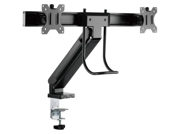 iiglo Ergo Dubbel monitorarm till 17-27 VESA upp till 100 x 100 65 kg rotation +180~-180