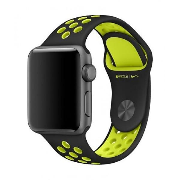 Apple 40mm Nike Sport Band - Black/Volt