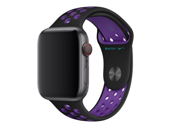 Apple 40mm Nike Sport Band - Black/Hyper Grape