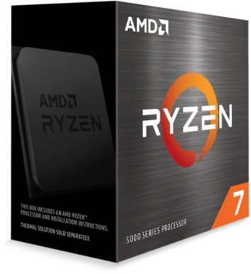 AMD Ryzen 7 5800X / 8 cores / 16 threads / 4.7 GHz