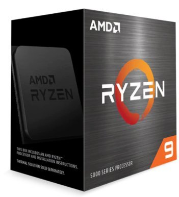AMD Ryzen 9 5900X / 12 cores / 24 threads / 4.8 GHz