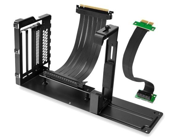 Svive Halo Vertical GPU bracket Inkluderat Svive PCI-E 1x riser cable