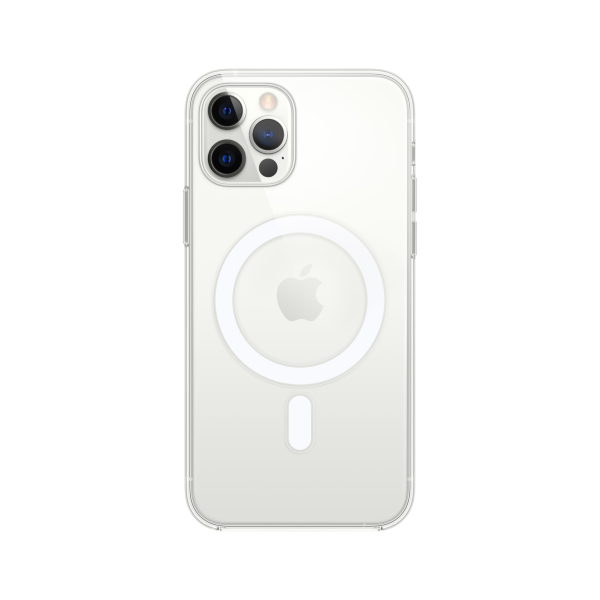 Transparent skal med MagSafe till iPhone 12 och iPhone 12 Pro
