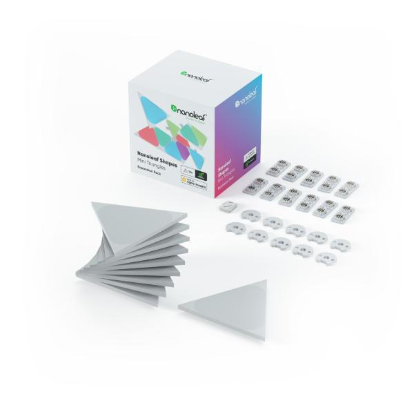 Nanoleaf Shapes Triangles Mini Expansion Pack – 10 Paneler