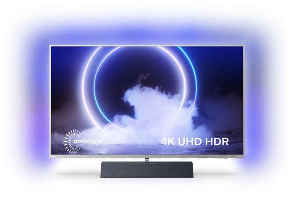Philips 2020 43 LED-TV 43PUS9235 – 4K UHD / B&W Ljud / Ambilight / Android TV (Kartongskada)