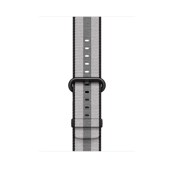 Apple 42mm Woven Nylon - Black (Fyndvara - Klass 1)