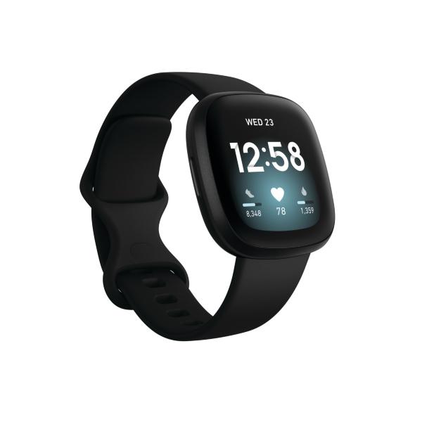 Fitbit Versa 3 – Black (Fyndvara – Klass 1)