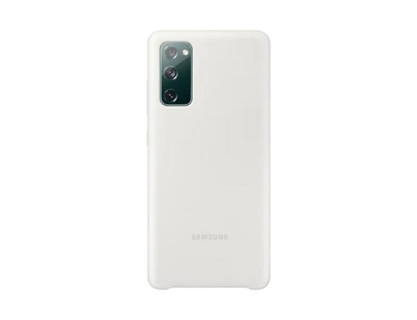 Samsung Galaxy S20 FE / Silicone Cover-  Vit