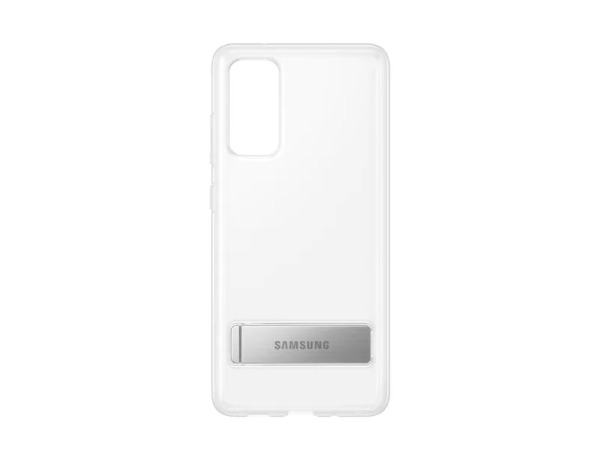 Samsung Galaxy S20 FE / Clear Standing Cover – Transparent