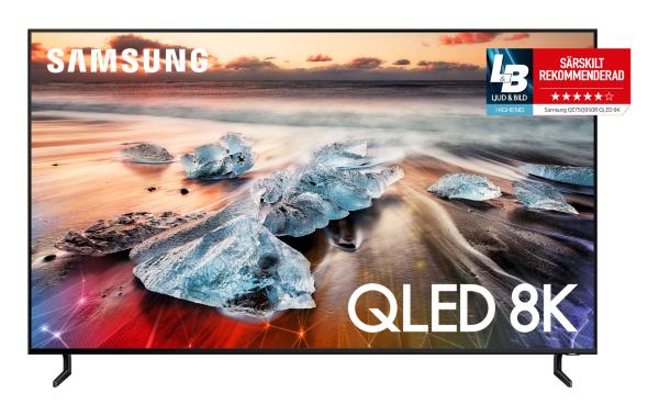 "Samsung 2019 75"" QLED QE75Q950RBTXXC - 8K UHD / Smart (Fyndvara - Klass 2)"
