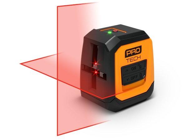 Protech korslaser / Röd laser - 10m