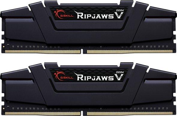 G.Skill RipjawsV 32GB (2x16GB) / 3600MHz / DDR4 / CL14 / Black