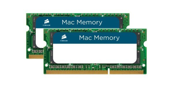 Corsair 16GB (2x8GB) / 1333MHz / DDR3 / CL9 / (CMSA16GX3M2A1333C9) Mac (Fyndvara - Klass 1)