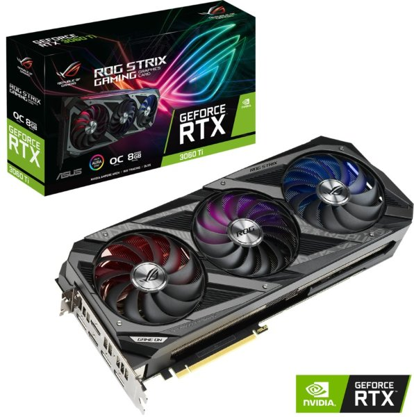 ASUS ROG STRIX GeForce RTX 3060Ti OC 8GB
