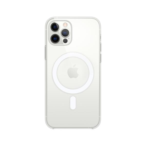 Transparent skal med MagSafe till iPhone 12 och iPhone 12 Pro (Fyndvara – Klass 1)