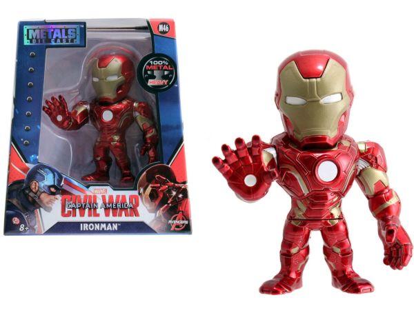 Marvel 4 Ironman Metal Figure