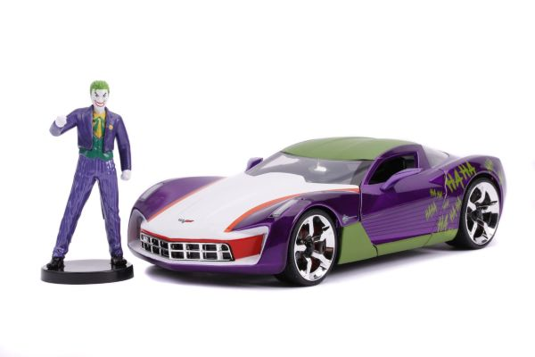 The Jokers 2009 Chevy Corvette Stingray and figure 1:24
