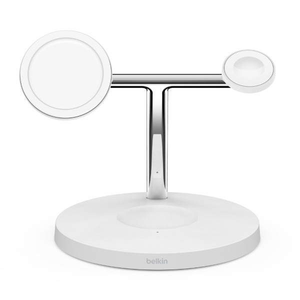Belkin BOOSTCHARGE™PRO MagSafe 3-in-1 Wireless Charger - Vit