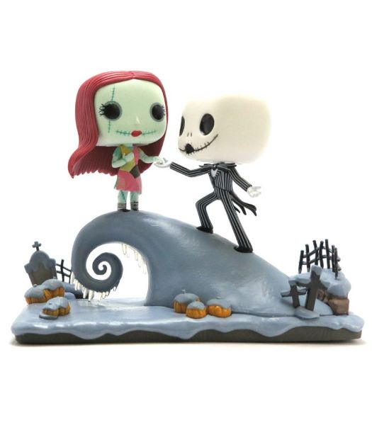 Funko POP! Disney: Movie Moment – Nightmare Before Christmas – Jack and Sally Under The Moonlight #4