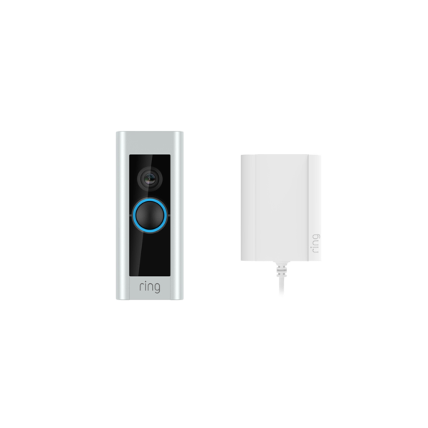 Ring Video Doorbell Pro med Plug-In Adapter