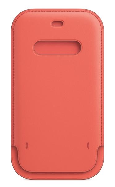 iPhone 12   12 Pro Läder Sleeve med MagSafe - Pink Citrus