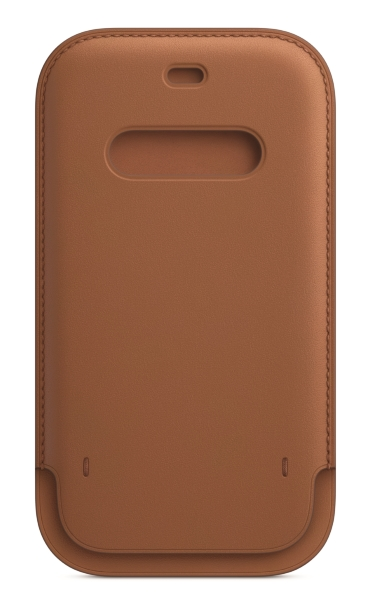 iPhone 12   12 Pro Läder Sleeve med MagSafe - Saddle Brown