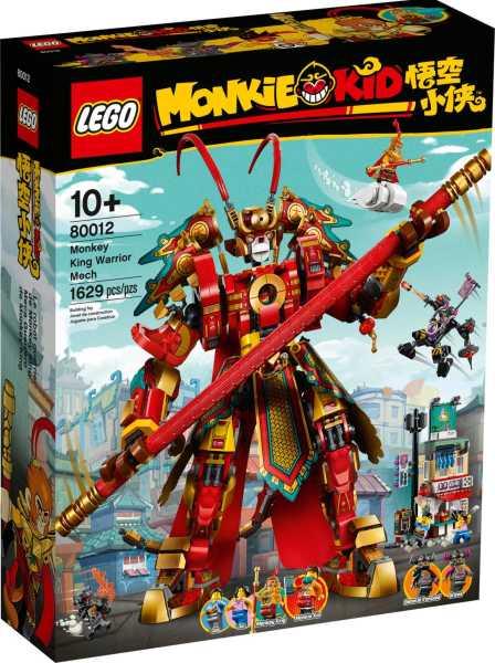 LEGO Monkie Kid Monkey Kings krigarrobot 80012
