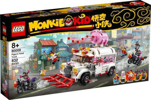 LEGO Monkie Kid Pigsys matbil 80009