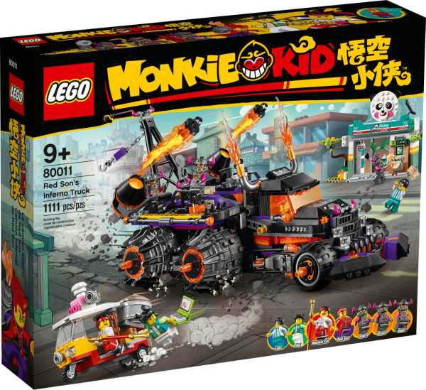 LEGO Monkie Kid Red Sons Infernobil 80011