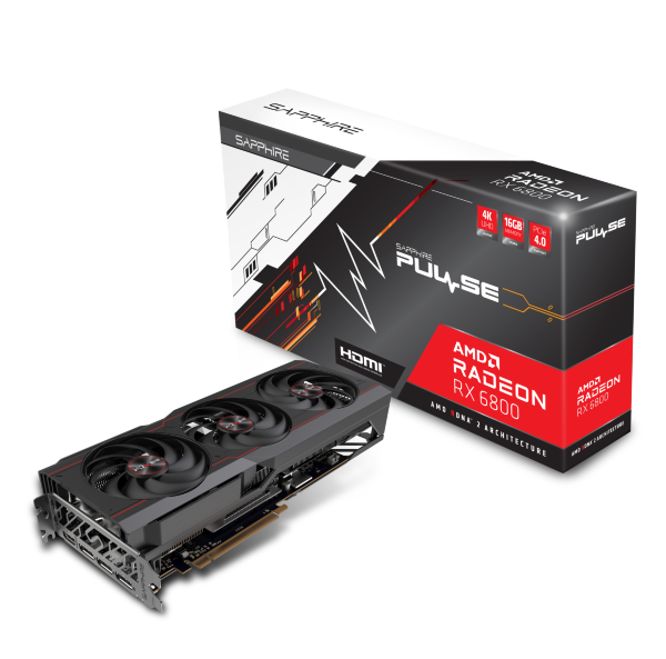 Sapphire PULSE AMD Radeon™ RX 6800 OC