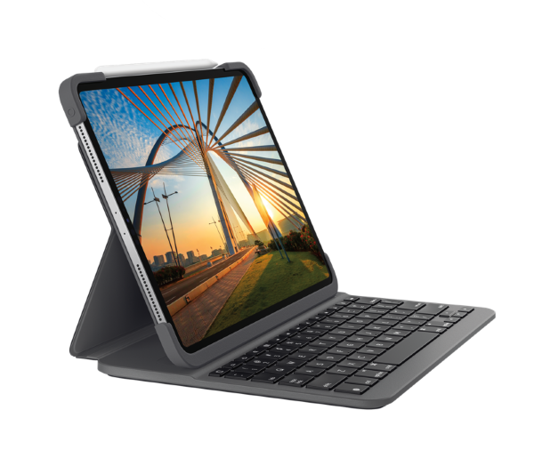 "Logitech iPad Pro 11"" 2nd gen. Slim Folio Keyboard (2020) (Fyndvara - Klass 1)"