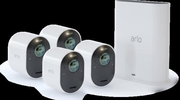 Arlo Ultra - Smart Security System with 4 Cameras (Fyndvara - Klass 3)