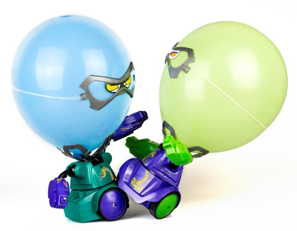 Silverlit Robo Kombat Balloon Puncher 2-pack (Lila/Grön)