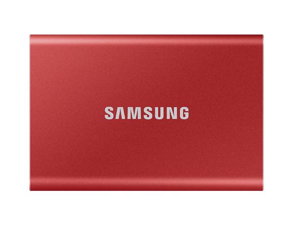 Samsung Portable SSD T7 1TB (USB 3.2) - Röd (Fyndvara - Klass 1)